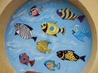 murales con pesci - 22 maggio 2011 TERRASINI LIDIA NAVARRA