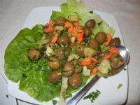 antipasto rustico: olive condite - Busith - 31 ottobre 2011  - Buseto palizzolo (1025 clic)