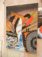 la mattanza - quadro - 5 giugno 2011  - Erice (1062 clic)