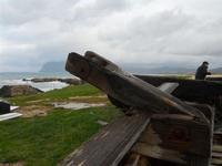 Tonnara - barche - particolare - 7 febbraio 2010  - Bonagia (2129 clic)