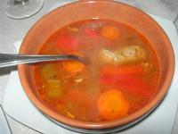 brodo per cous cous  di carne e verdure - Busith - 27 marzo 2011  - Buseto palizzolo (1420 clic)
