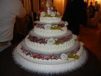 torta nuziale - L'Agorà - 1 ottobre 2011  - Segesta (1043 clic)