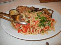 busiate al pesto trapanese con melanzane - Busith - 25 aprile 2011   - Buseto palizzolo (1266 clic)
