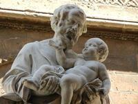 la Cattedrale Metropolitana della Santa Vergine Maria Assunta - particolare - 8 agosto 2011 PALERMO