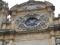 la Cattedrale - particolare della facciata - 25 aprile 2011  - Mazara del vallo (908 clic)