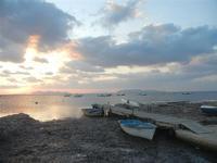 tramonto sulle Isole Egadi - 13 novembre 2011  - Nubia (450 clic)