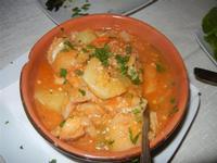 antipasto rustico: trippa con patate - Busith - 31 ottobre 2011  - Buseto palizzolo (1057 clic)