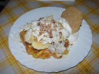 Waffel Esotico, con nutella, banane a pezzetti e scaglie di cioccoltao bianco - La Piazzetta - 11 settembre 2010  - Balestrate (4124 clic)
