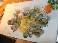 spaghetti con le vongole - La Cambusa - 7 marzo 2011  - Castellammare del golfo (1215 clic)