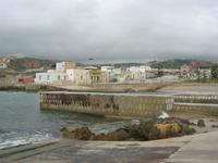 veduta dal porticciolo - case sul mare, Piazza Riviera e spiaggetta - 14 febbraio 2010   - Cornino (2484 clic)