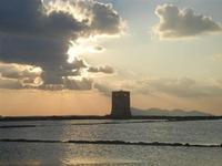 Torre di Nubia e tramonto alle saline - 13 novembre 2011  - Nubia (565 clic)