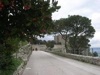 giardino del Balio e Castello di Venere - 1 gennaio 2011  - Erice (1161 clic)