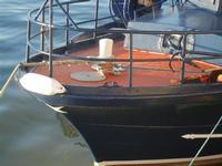 porto canale - particolare barca - 6 novembre 2011  - Mazara del vallo (774 clic)