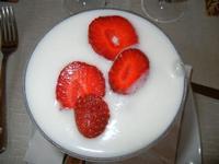 sorbetto al limone con fragole - Busith - 12 giugno 2011  - Buseto palizzolo (1119 clic)