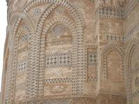 la Cattedrale Metropolitana della Santa Vergine Maria Assunta - abside: particolare - 8 agosto 2011