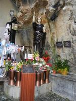 Santuario di Santa Rosalia sul Monte Pellegrino - particolare - 8 agosto 2011 PALERMO LIDIA NAVARRA