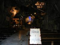 Santuario di Santa Rosalia sul Monte Pellegrino - la grotta - 8 agosto 2011 PALERMO LIDIA NAVARRA