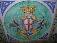 stemma di Caltagirone in maiolica - Ponte S. Francesco - 4 dicembre 2010 CALTAGIRONE LIDIA NAVARRA