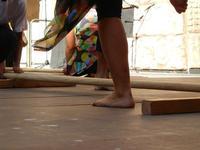 Spettacolo multietnico UNA SOLA FAMIGLIA UMANA nel cortile del Collegio dei Gesuiti - 19 giugno 2011  - Sciacca (550 clic)