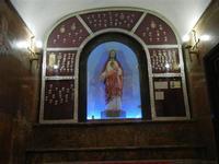 Santuario di Santa Rosalia sul Monte Pellegrino - interno - 8 agosto 2011 PALERMO LIDIA NAVARRA