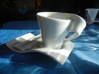 tazzina con caffè - La Torre di Nubia - 20 novembre 2011  - Nubia (1767 clic)