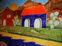 pannello di Nino Parrucca - particolare - a casa di Miriam - 22 maggio 2011  - Bagheria (1205 clic)