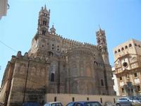 la Cattedrale Metropolitana della Santa Vergine Maria Assunta - abside - e Chiesa di Santa Maria di