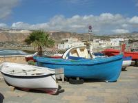 barche in secca - 2 giugno 2010  - Cornino (1762 clic)