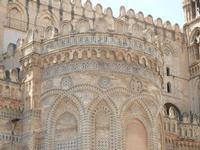 la Cattedrale Metropolitana della Santa Vergine Maria Assunta - abside - 8 agosto 2011 PALERMO LIDIA