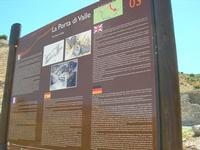 La Porta di Valle - cartello turistico - 1 agosto 2010  - Segesta (3228 clic)