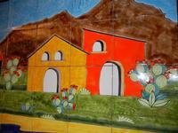 pannello di Nino Parrucca - particolare - a casa di Miriam - 22 maggio 2011  - Bagheria (1143 clic)