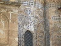 la Cattedrale Metropolitana della Santa Vergine Maria Assunta - particolare dell'abside - 8 agosto 2
