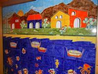 pannello di Nino Parrucca a casa di Miriam - 22 maggio 2011  - Bagheria (1086 clic)