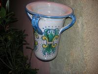 cantero in ceramica - 4 dicembre 2010 CALTAGIRONE LIDIA NAVARRA