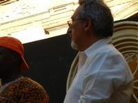 Spettacolo multietnico UNA SOLA FAMIGLIA UMANA nel cortile del Collegio dei Gesuiti - 19 giugno 2011  - Sciacca (1194 clic)