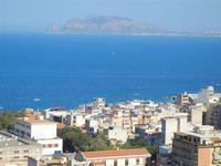 panorama della città e del golfo dal Monte Pellegrino - 8 agosto 2011 PALERMO LIDIA NAVARRA