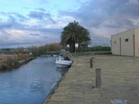 Riserva Naturale Orientata Isole dello Stagnone - imbarcadero storico per l'Isola di Mozia - 23 gennaio 2011  - Marsala (1012 clic)