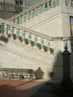 particolare scalinata nello spiazzo antistante la Chiesa Santa Maria del Monte - 4 dicembre 2010 CAL