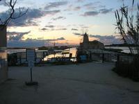 Riserva Naturale Orientata Isole dello Stagnone - imbarcadero storico per l'Isola di Mozia - Saline Infersa e mulino a vento - 23 gennaio 2011  - Marsala (1041 clic)