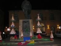 particolari alberi di Natale - 4 dicembre 2010  - Caltagirone (2753 clic)