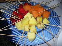 ananas, melone e fragole - Parco Elimi - 26 giugno 2010  - Segesta (3699 clic)