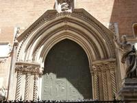 la Cattedrale Metropolitana della Santa Vergine Maria Assunta - portale - 8 agosto 2011 PALERMO LIDI