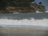 Baia di Guidaloca - mare in tempesta - 6 gennaio 2012  - Castellammare del golfo (690 clic)