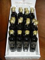 amaro locale - esposizione bottiglie mignon - 31 agosto 2011  - Salemi (1283 clic)