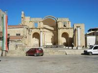Piazza Alicia e ruderi Chiesa Madre - 31 agosto 2011  - Salemi (1182 clic)