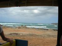 la costa vista dal trenino - Golfo del Cofano - 29 agosto 2010  - Castelluzzo (3040 clic)