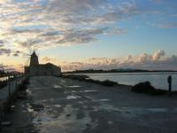 Riserva Naturale Orientata Isole dello Stagnone - Saline Infersa - mulino a vento - 23 gennaio 2011  - Marsala (1011 clic)