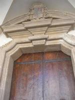 Seminario (Vescovile) dei Chierici - portone - particolare - 9 maggio 2010   - Mazara del vallo (1341 clic)