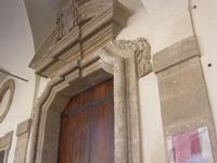 Seminario (Vescovile) dei Chierici - portone - particolare - 9 maggio 2010   - Mazara del vallo (1345 clic)