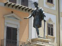 Monumento a Carlo V, dello scultore Scipione Li Volsi, in Piazza Bologna - 8 agosto 2011 PALERMO LID